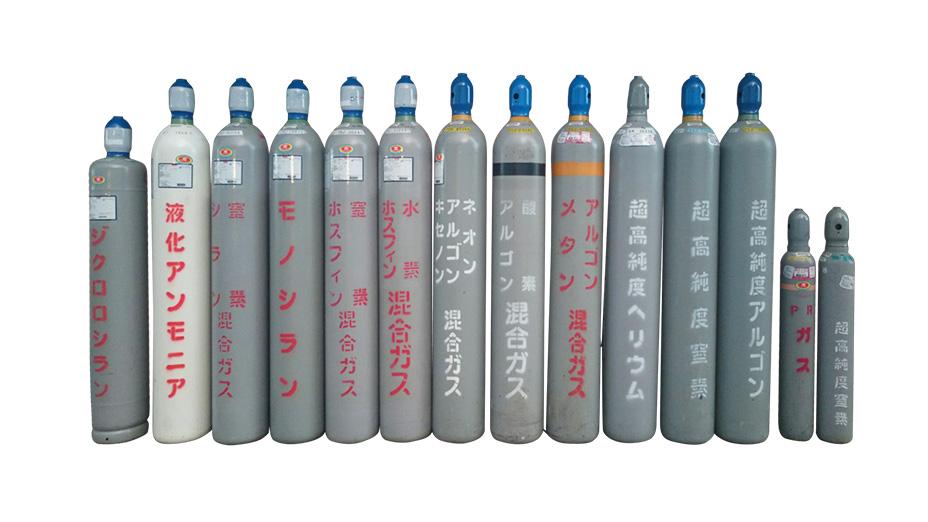 半導体特殊材料ガス