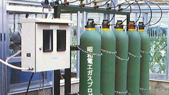 炭酸ガス施用
