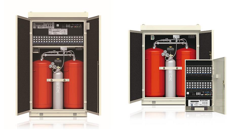 パッケージ型自動消火設備