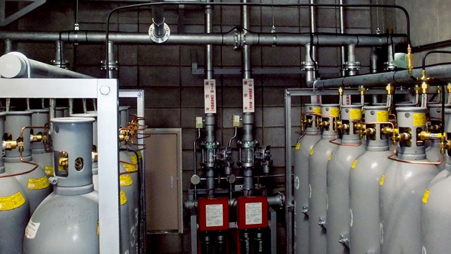 窒素ガス消火設備