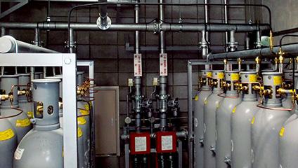窒素消火設備