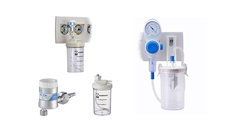 医療ガス監視設備・医療ガス付属品