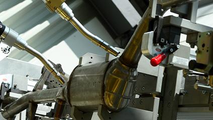 溶接ロボットシステム